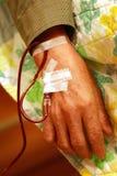 Transfusión de sangre Imagenes de archivo