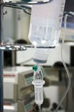 Transfusion in operation room Royalty Free Stock Photography