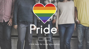 Transgender υπερηφάνειας αλλόκοτη ομοφυλόφιλη ομοφυλοφιλική έννοια Transexual στοκ εικόνες με δικαίωμα ελεύθερης χρήσης