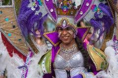 Transgender dancer disguised parading in Rotterdam festival 2019