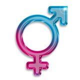Transgender identity symbol Royalty Free Stock Image