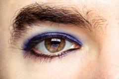 Transgender`s Eye Stock Images