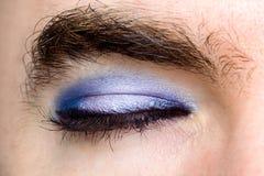Transgender`s Eye Royalty Free Stock Photo