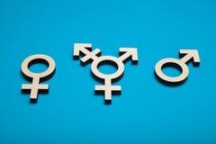 Transgenderkunst-Hintergrundkonzept Geschlechtsorientierung, sexuelle Toleranz lizenzfreie stockfotografie