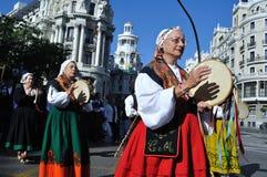 Transhumance à Madrid - en Espagne Images stock