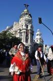Transhumance in Madrid - Spain Stock Image