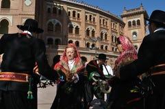 Transhumance in Madrid - Spanien Stockfotos