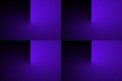 Transição abstrata da cor do inclinação Fotografia de Stock