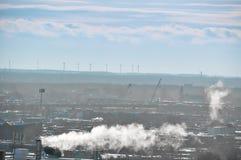 Transición ligera de la industrialización Foto de archivo libre de regalías