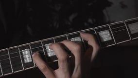 Transición a partir de un acorde a otro almacen de metraje de vídeo
