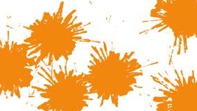 Transiciones video de la pintura de espray en HD lleno libre illustration