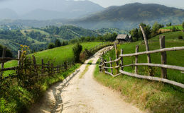 Transilvania. This landscape is shot in Transilvania, Romania Royalty Free Stock Photos