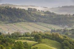 Transilvanya landscape Stock Image