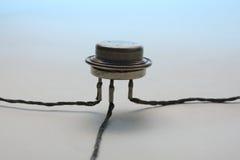 Transistor Foto de archivo libre de regalías