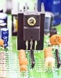 Transistor Royalty Free Stock Photo