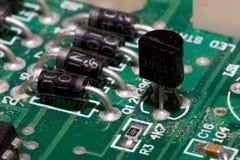 transistor Fotografering för Bildbyråer