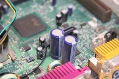 Transistor de la placa madre Fotos de archivo libres de regalías