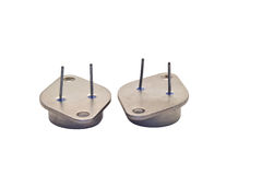 Transistor de potência Imagem de Stock Royalty Free