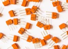 Transistor eletrônicos Imagens de Stock Royalty Free