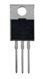 Transistor em uma capa de plástico imagens de stock royalty free