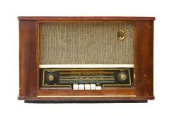 Transistor par radio antique Images libres de droits