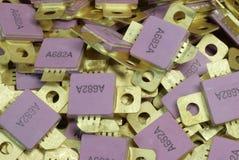 Transistor planares Foto de Stock