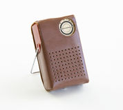 Transistor Radio in Case Stock Photography
