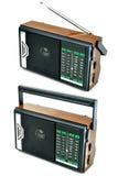 Transistor radio. Isolated on white background Royalty Free Stock Image