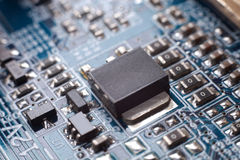 Transistor, SMD-SMT Stock Image