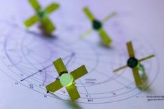 transistorer Arkivbild