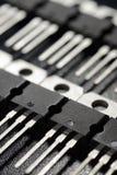 Transistorer för svart makt Royaltyfri Fotografi