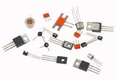 transistores imagen de archivo