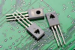 Transistors Royalty Free Stock Photos