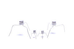 transistors fous Image libre de droits