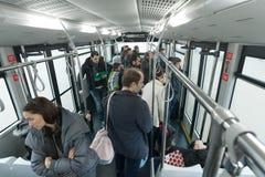Transit bus Royalty Free Stock Image