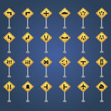Transit signals Royalty Free Stock Images