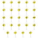 Transit signals Stock Image