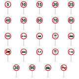Transit signals Royalty Free Stock Photography
