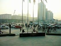 Transit in tianjin Stock Photo