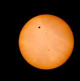 Transit of Venus, 2012 stock image