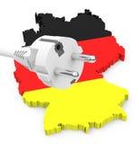 Transition allemande d'énergie Photos stock