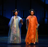 Transition-back to the palace-Modern drama Empresses in the Palace Stock Photo