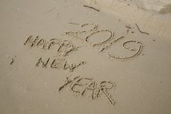 2018/2019 transition - New years eve stock images