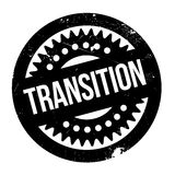 Transition rubber stamp Royalty Free Stock Image