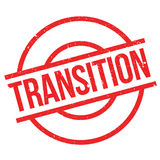 Transition rubber stamp Stock Image