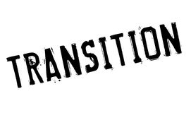 Transition rubber stamp Royalty Free Stock Photography