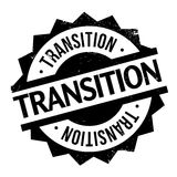 Transition rubber stamp Stock Images
