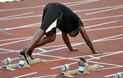 Transitoire d'or 2011, boulon d'Usain, 2011 photo libre de droits