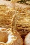 Transitoires délicieuses de sucre et de blé de boulangerie de roulis Image libre de droits