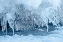 Transitoires de glace. Photographie stock libre de droits